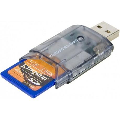 Lecteur de cartes mémoire USB 2 4 en 1