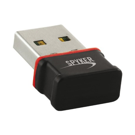 Spyker 5513003 Adaptateur USB Wifi 11N 150Mbps Noir