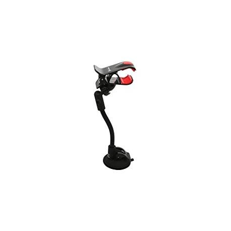 Porte-Agrafe de voiture pour Smartphone GPS Noir SUP-HC21J