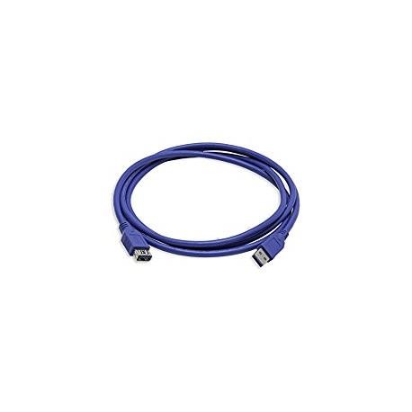 Rallonge USB v3.0 1.8M Bleu