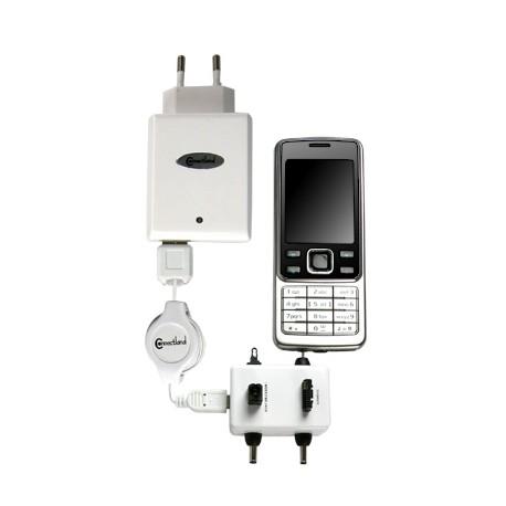 Chargeur USB multiple pour téléphone mobile Connectland
