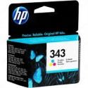 HP 343 Cartouche d'encre d'origine Couleurs (cyan, magenta, jaune)