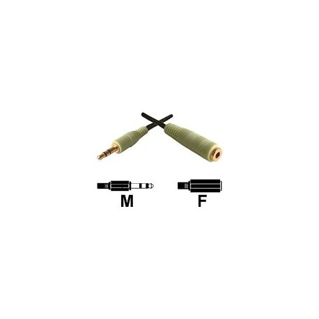 Dexlan Cordon sortie audio Jack 3,5 mm M/F 3 m