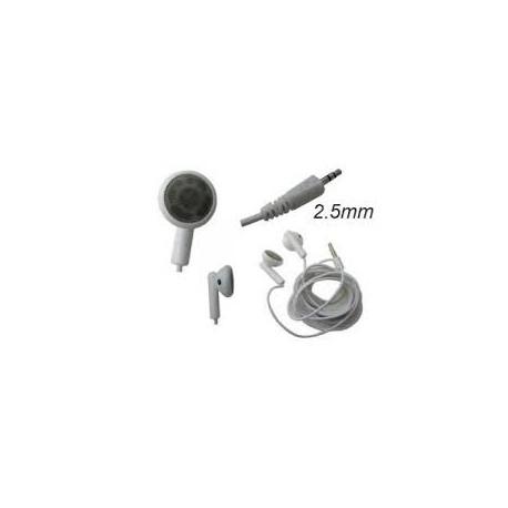 Casque pour Baladeur - Compatible IPOD Jack 2.5mm - Coloris AU CHOIX