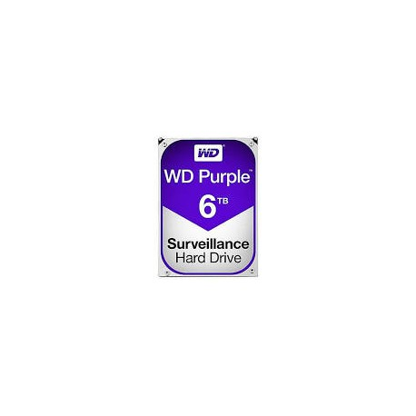 Western Digital WD60PURZ Disque dur 3.5 sata Purple 6 To