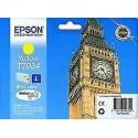 Epson t7034 Cartouche d'encre originale Big Ben Jaune