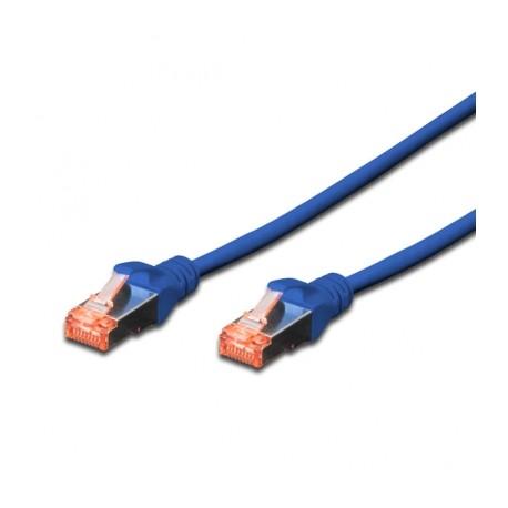 Câble RJ45 S/FTP catégorie6 10M bleu