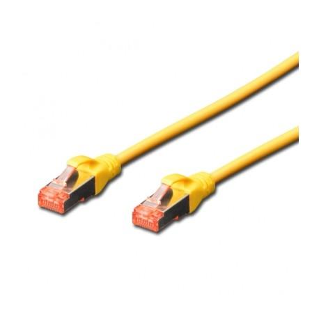 Câble RJ45 S/FTP catégorie6 10M jaune