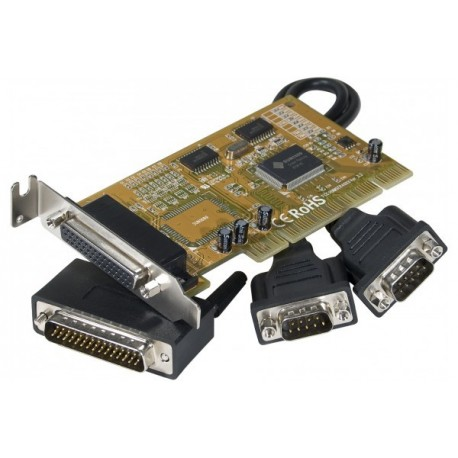 Carte pci sunix 2 x série RS232 (DB44) low profile- 2 ports