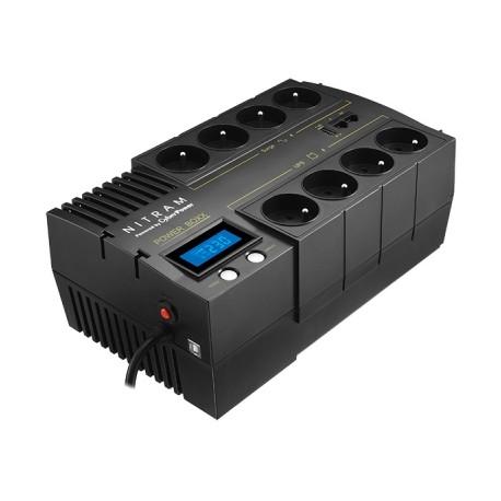 Onduleur 8 prises 1000VA Power Boxx