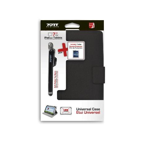 Pack étui, film de protection et stylet pour tablettes 7'' Phoenix IV 501664 PORT DESIGNS