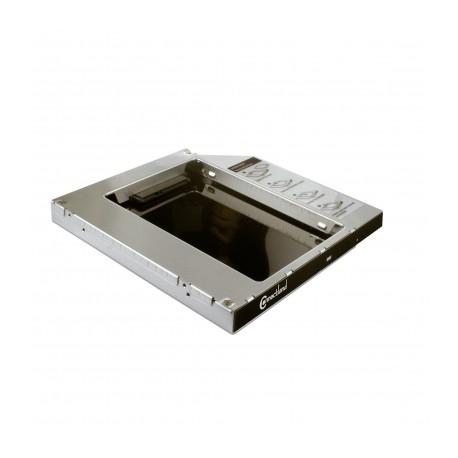 Adaptateur pour disque SATA 2.5'' dans emplacement lecteur optique 9.5mm Connectland