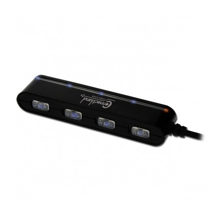 Hub USB v2.0 4 ports Connectland Noir