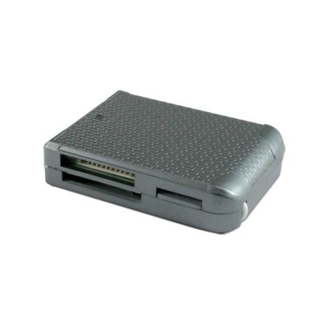 Lecteur Multicarte USB GC-2015 Argent Connectland